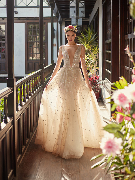 Amaya Wedding                                          dress by Galia Lahav