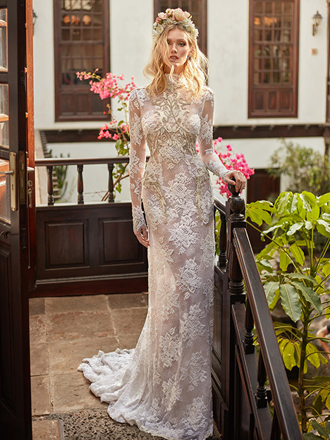 Snow in Summer Wedding                                          dress by Galia Lahav