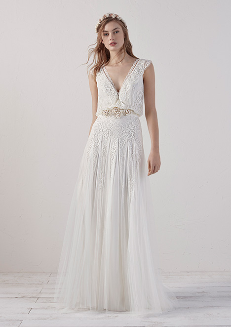 ECO Wedding                                          dress by Pronovias