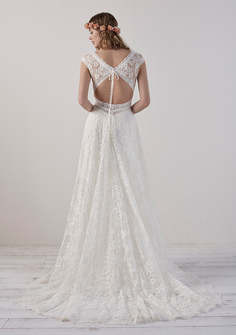 EDERNE (back) Wedding                                          dress by Pronovias