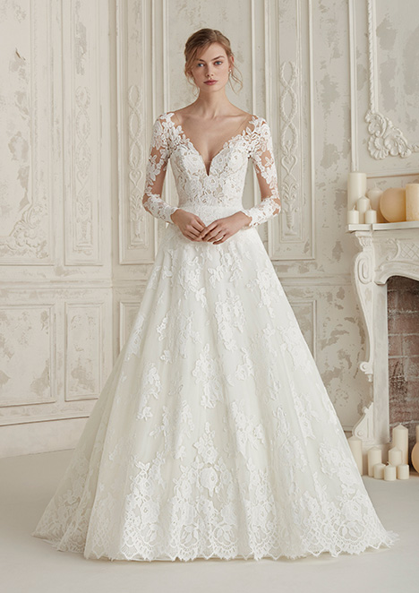 ELEMA Wedding                                          dress by Pronovias
