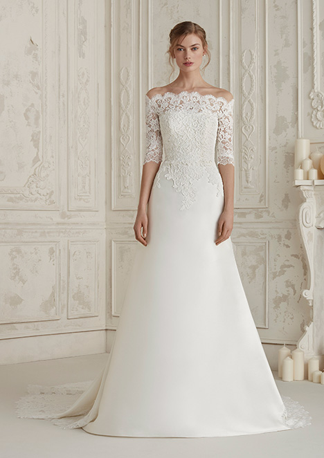 ELINE Wedding                                          dress by Pronovias