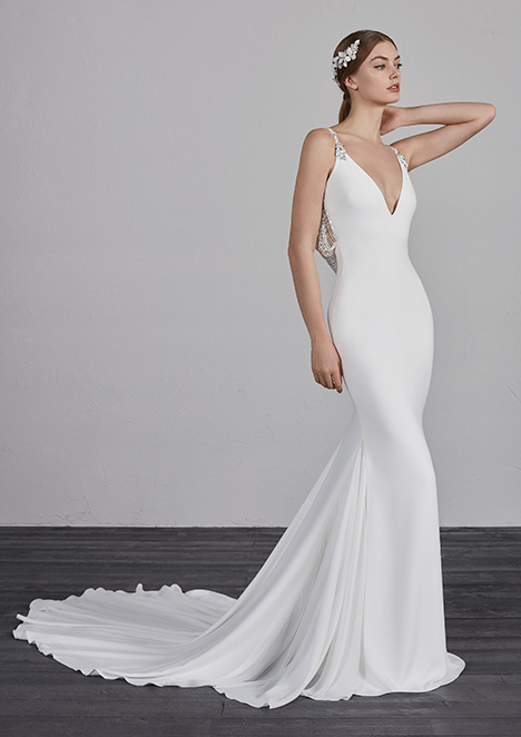 EMILSE gown from the 2019 Pronovias collection, as seen on dressfinder.ca