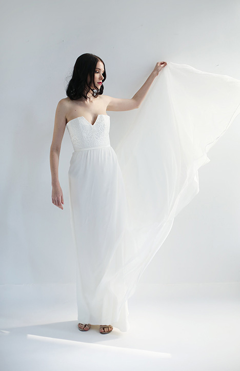 Louisa Wedding                                          dress by Leanne Marshall