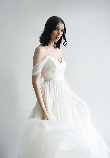 Montana Wedding                                          dress by Leanne Marshall