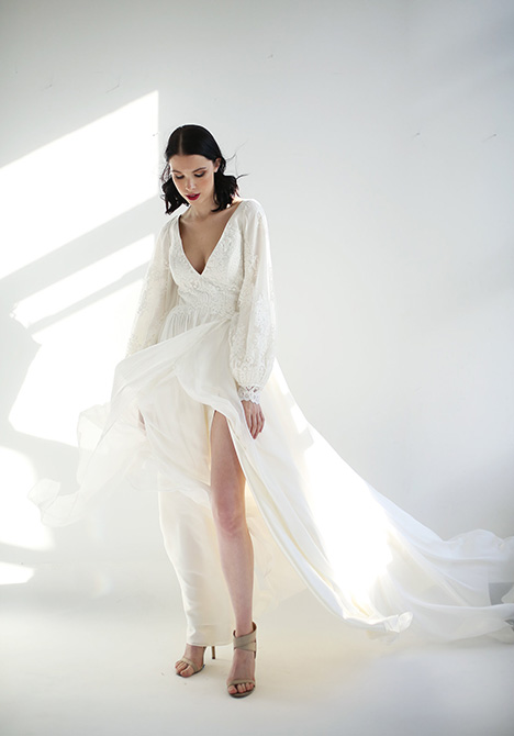 Pascaline Wedding                                          dress by Leanne Marshall
