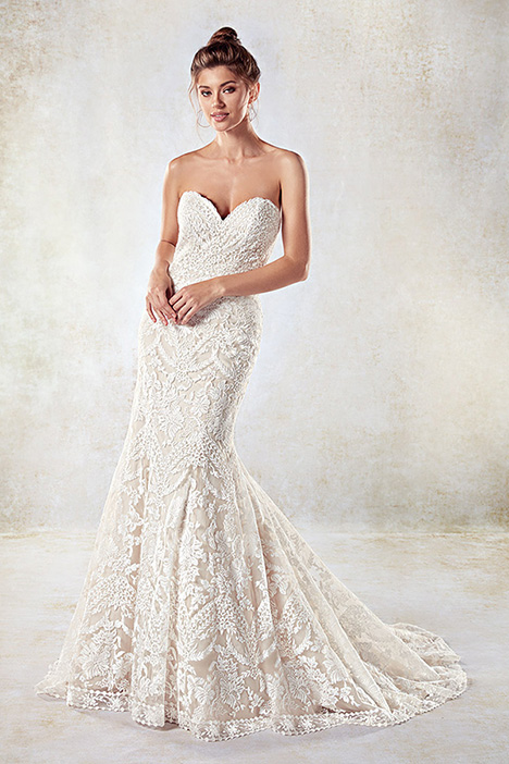 EK1021B Wedding                                          dress by Eddy K