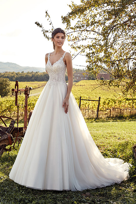 EK1208 Wedding                                          dress by Eddy K
