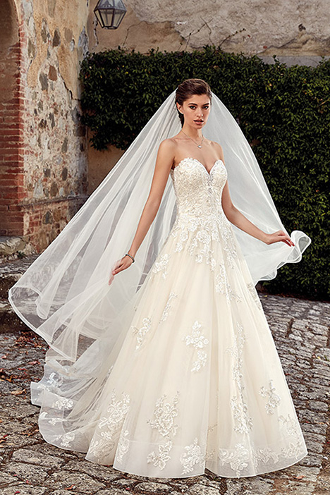 EK1214 Wedding                                          dress by Eddy K