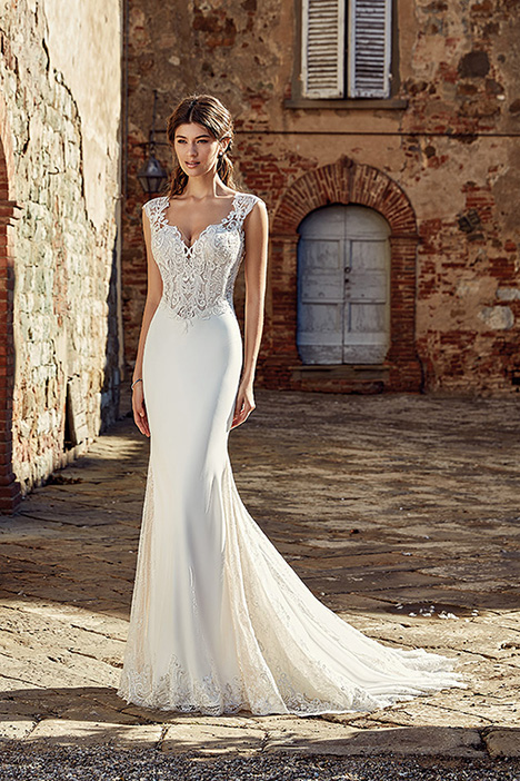 EK1215 Wedding                                          dress by Eddy K