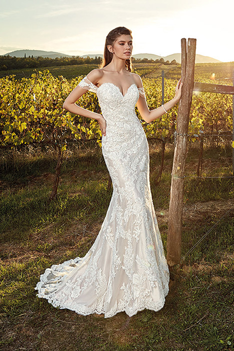 EK1218 Wedding                                          dress by Eddy K