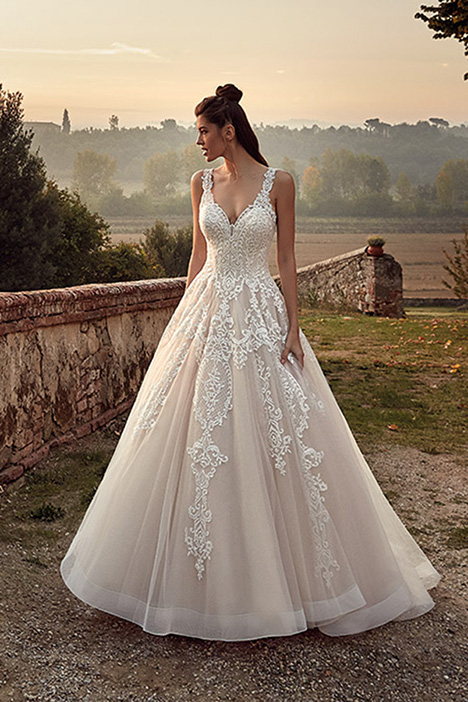 EK1220 Wedding                                          dress by Eddy K