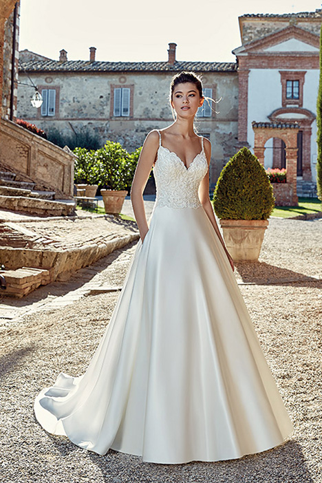 EK1227 Wedding                                          dress by Eddy K