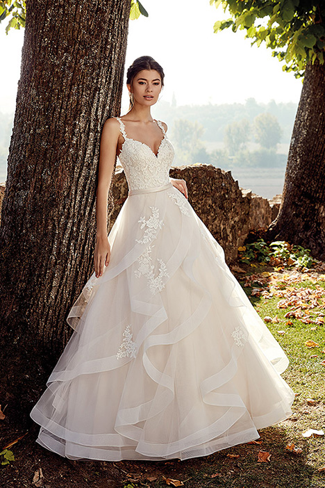 EK1230 Wedding                                          dress by Eddy K