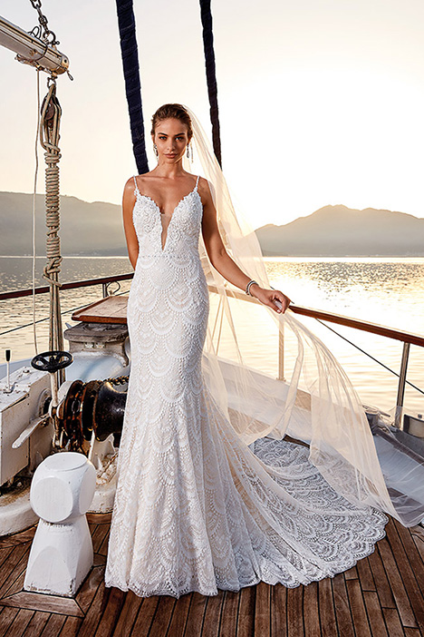 Alicia Wedding                                          dress by Eddy K Dreams