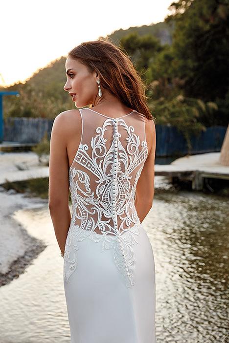 Paula (back) (DR1923) Wedding                                          dress by Eddy K : Dreams