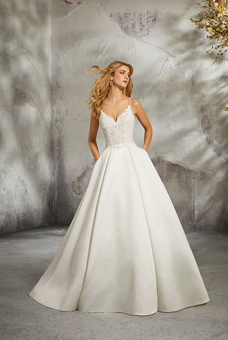 Style 8272 gown from the 2018 Morilee Bridal collection, as seen on dressfinder.ca