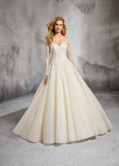 Style 8281 gown from the 2018 Morilee Bridal collection, as seen on dressfinder.ca