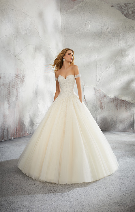 Style 8291 gown from the 2018 Morilee Bridal collection, as seen on dressfinder.ca