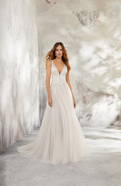 Style 5681 gown from the 2018 Morilee Blu collection, as seen on dressfinder.ca