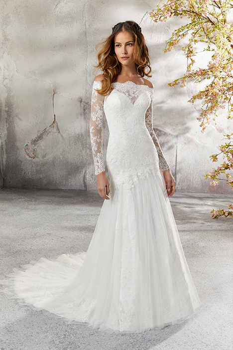 5686 Wedding                                          dress by Mori Lee: Blu