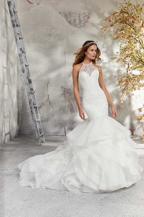 5687 Wedding                                          dress by Mori Lee: Blu