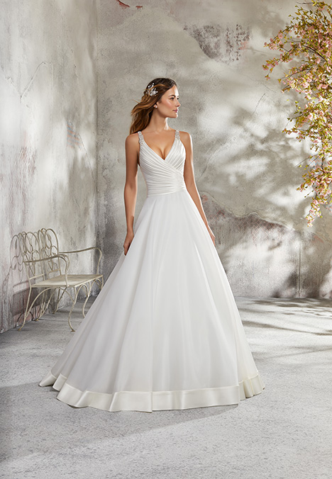 5690 Wedding                                          dress by Mori Lee: Blu