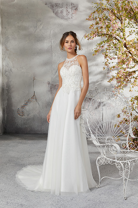 5691 Wedding                                          dress by Mori Lee: Blu