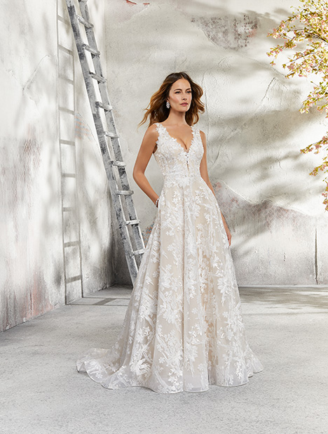 5695 Wedding                                          dress by Mori Lee: Blu