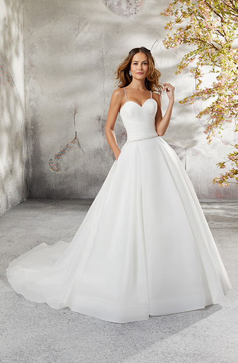 5696 Wedding                                          dress by Mori Lee: Blu