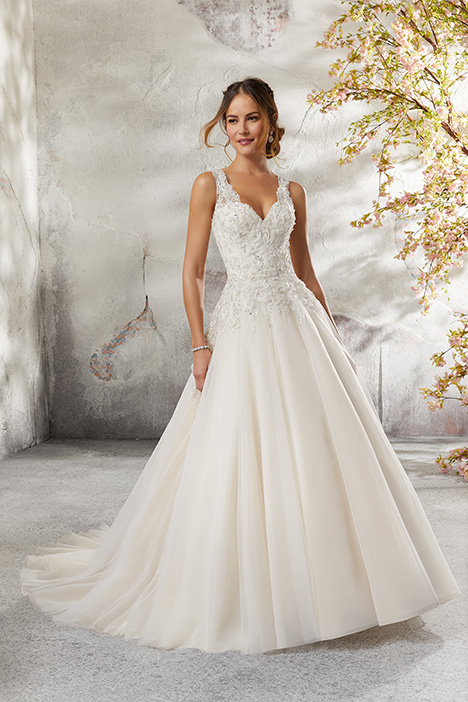 5697 Wedding                                          dress by Mori Lee: Blu