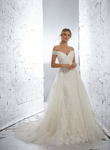 1714 (+ overskirt) Wedding                                          dress by Morilee AF Couture