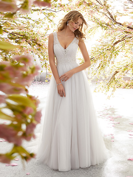 6891 Wedding                                          dress by Mori Lee: Voyage