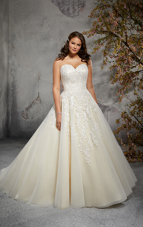 3246 Wedding                                          dress by Mori Lee: Julietta