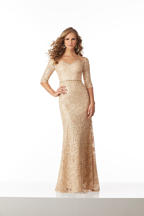 71801 (Champagne) Mother of the Bride                              dress by Mori Lee : MGNY
