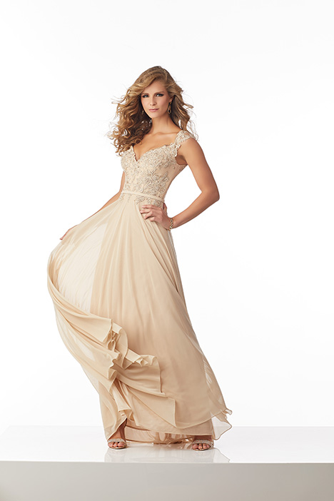 71802 (Gold) Mother of the Bride                              dress by Mori Lee : MGNY