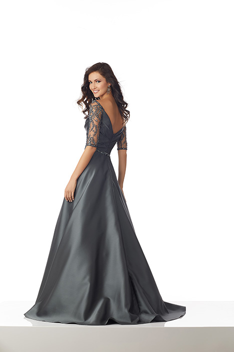 71804 (Charcoal) Mother of the Bride                              dress by Mori Lee : MGNY