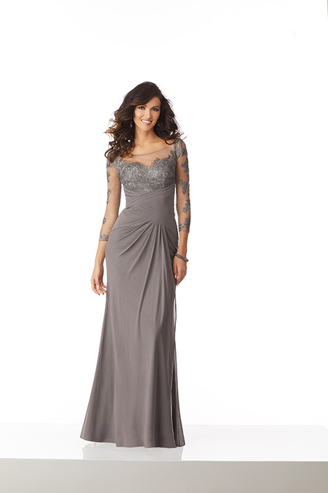 71807  (Charcoal) Mother of the Bride                              dress by Mori Lee : MGNY