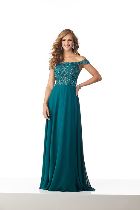 71808 (Emerald) Mother of the Bride                              dress by Mori Lee : MGNY