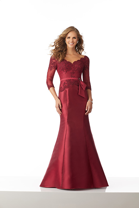 71817 (Wine) Mother of the Bride                              dress by Mori Lee : MGNY