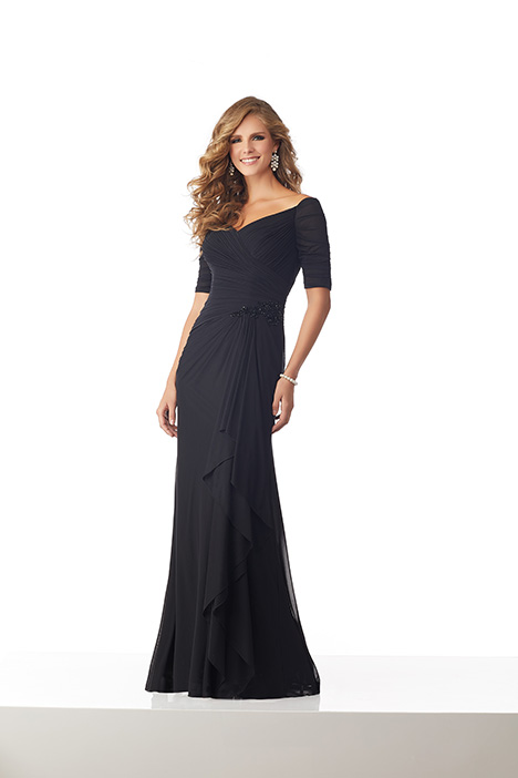 71820 (Black) Mother of the Bride                              dress by Mori Lee : MGNY