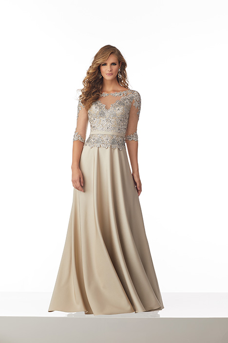 71826 (Champagne) Mother of the Bride                              dress by MGNY Madeline Gardner