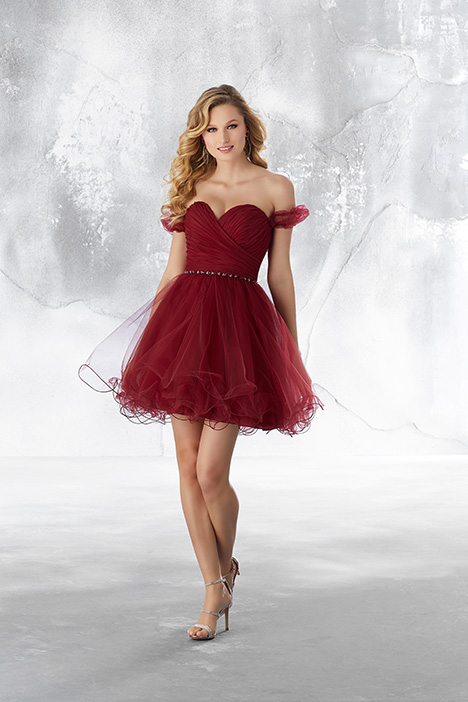 9485 (Sangria) Prom                                             dress by Morilee Damas