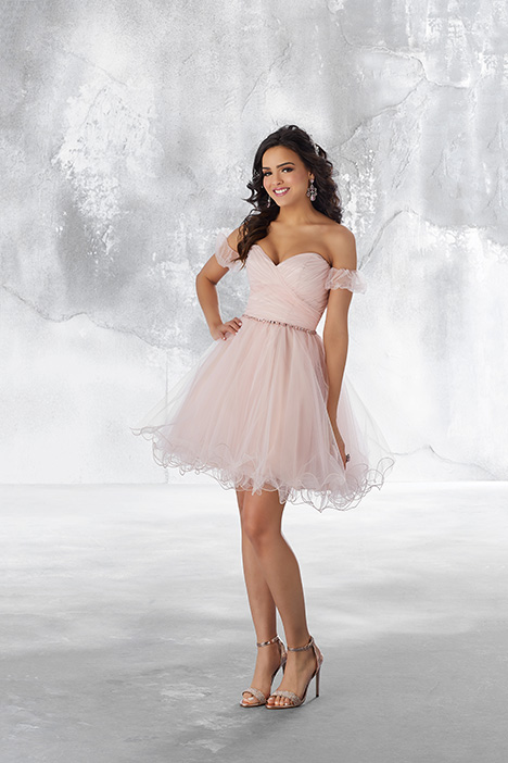(Blush) (2) Prom                                             dress by Morilee Damas