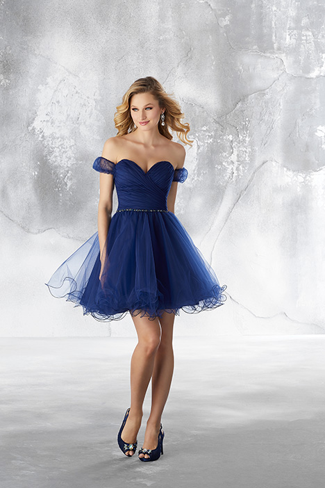 (Navy) Prom dress by Morilee Damas