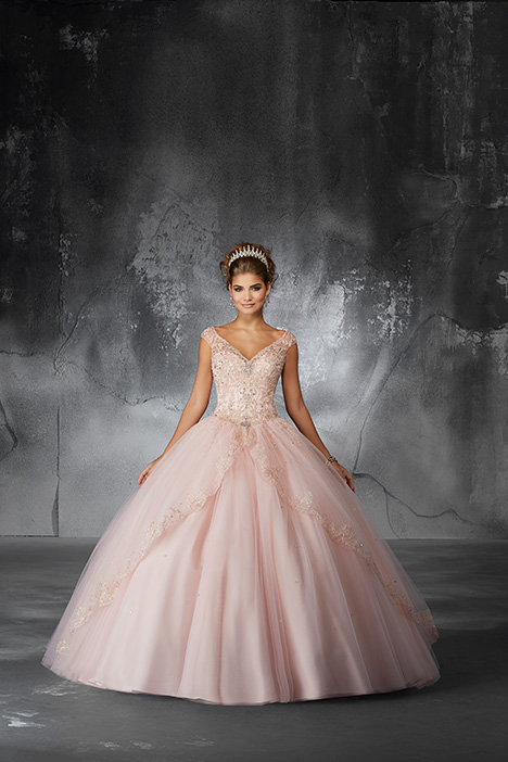 60054 (Blush) Prom                                             dress by Morilee Valencia