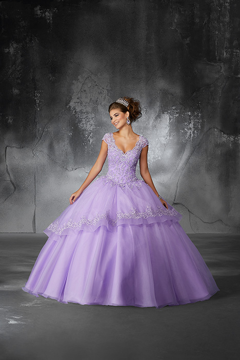 60055 (Light Purple) Prom                                             dress by Morilee Valencia