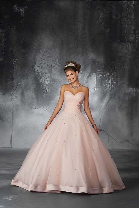 60057 (Blush) Prom                                             dress by Morilee Valencia