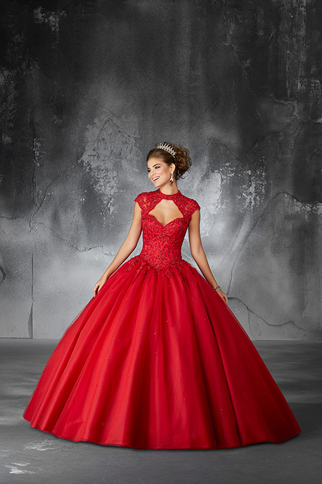 60058 (Scarlet) Prom                                             dress by Morilee Valencia