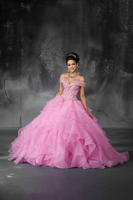 60059 (Iced Pink) Prom                                             dress by Morilee Valencia